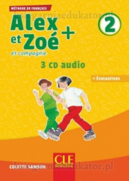 Alex et Zoé 2+ : CD audio collectif 2 - Zestaw płyt CD audio
